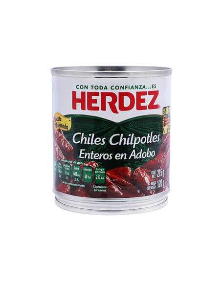 Chiles Chipotles Herdez  215g.Dose