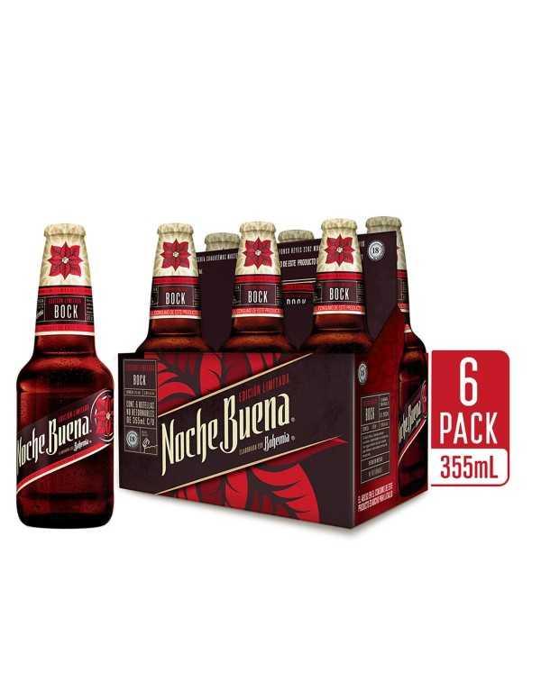 Nochebuena Six Bock Bier 355ml/6 Flaschen