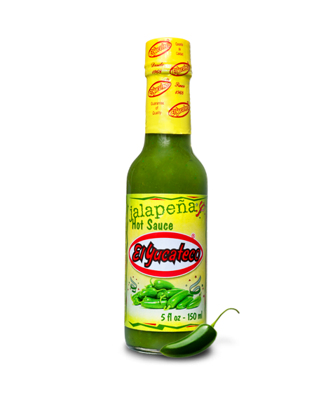 Salsa Jalapeño El Yucateco 150 ml