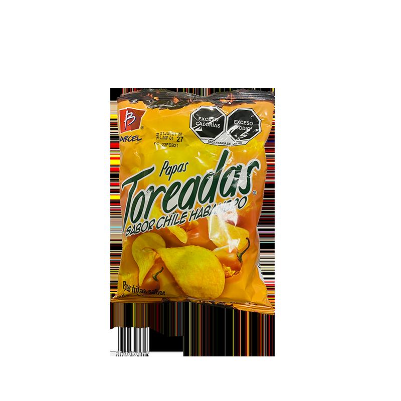 Chips Toreada habanero 38gr