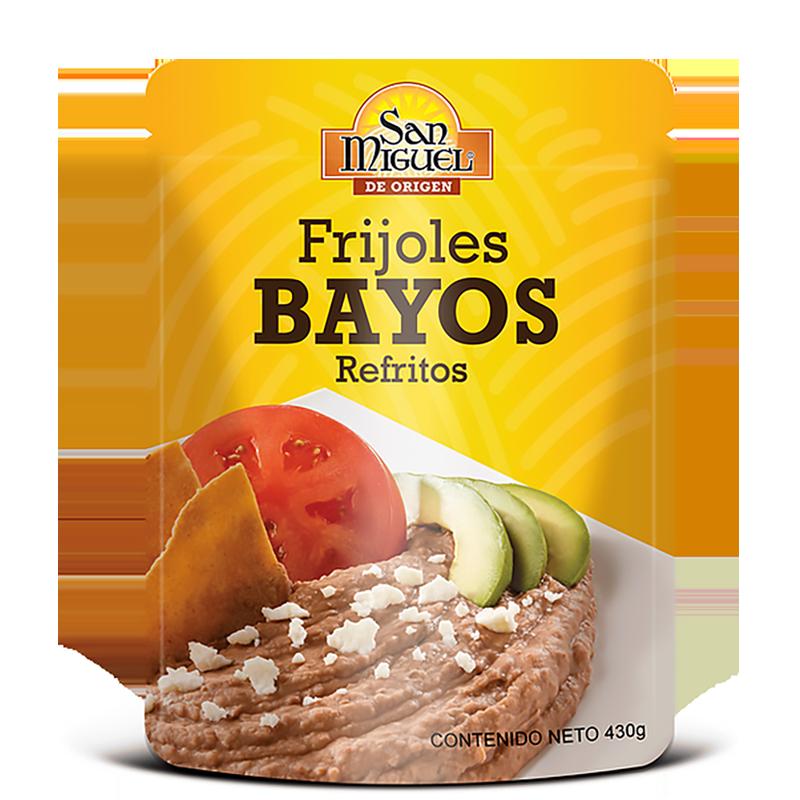 Bayos Bohnenmus San Miguel/FRIJOLES BAYOS POUCH DE 430 GR