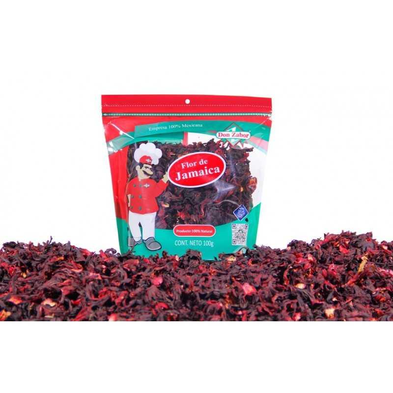 Jamaica Hibiskusblüten getrocknet 100 g DON ZABOR