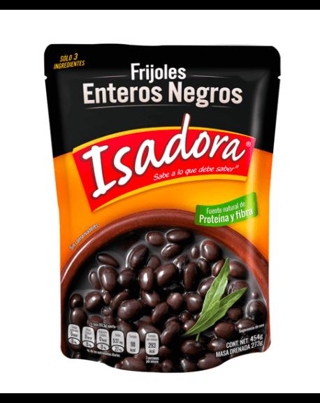 Frijoles ganze schwarze Bohnen  Isadora 454g