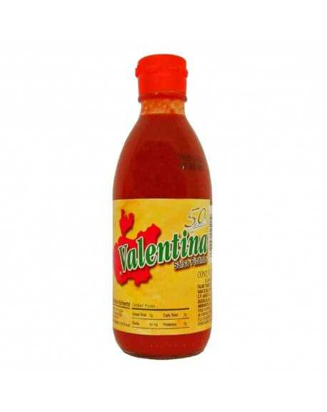 Valentina-Chili-Soße mittel-scharf 370ml Grupo Tamazula