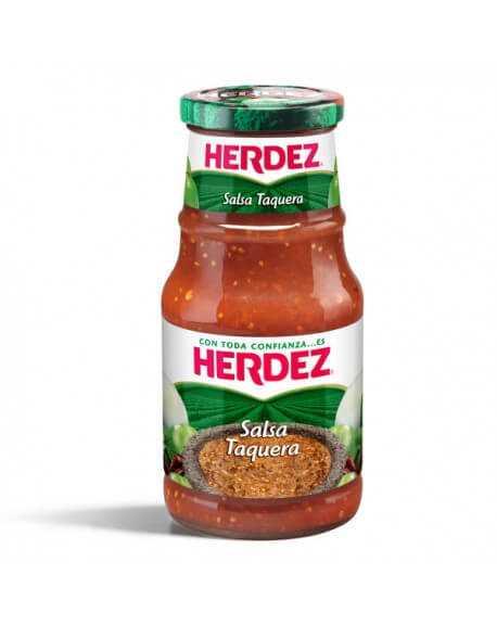 Taquera Sauce Herdez Glas 453g